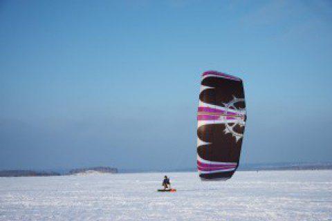 Сноукайтинг и Сноуборд