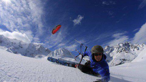 Подготовка лыж/сноуборда к катанию под кайтом