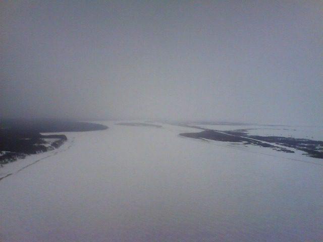 Последние километры перед Перегребным