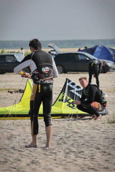 Кайтсерфинг на Озере Калды. 14.07.2013