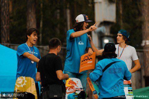 Чемпионат России по катерному вейкборду: Результаты