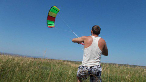 Как я открыл для себя потрясающий ветренный спорт через «ОЧУМЕЛЫЕ РУЧКИ» или дурная голова рукам покоя не дает )))