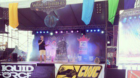 Миасские вейкеры на пьедестале WWA Wake Thrones