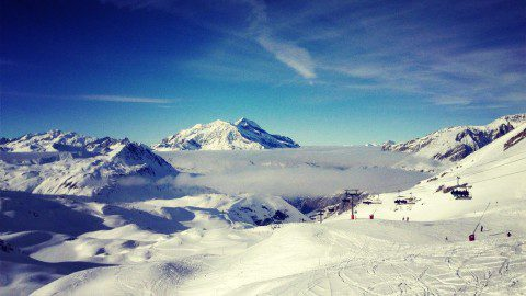 KiteTeam: Альпийский фрирайд во Франции. Видео