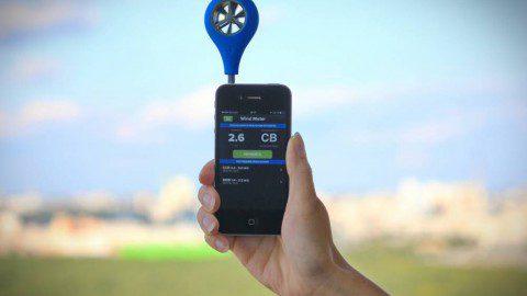 Как измерить ветер смартфоном? Например с WeatherFlow