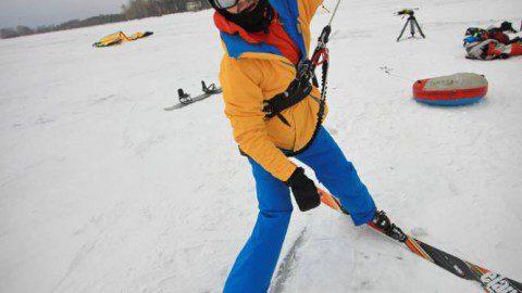 Небольшие гонки на Визовском пруду в Екатеринбурге