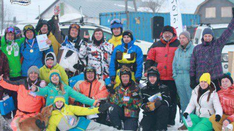 Cоревнования  по сноукайтингу «ZAOZЁRKA RACE» на Камчатке