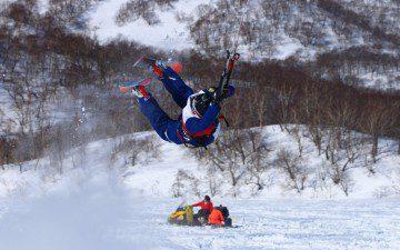Отчетное зимнее видео 2015 года. «Winter Flight 2015″ от KiteTeam — Kamchatka.