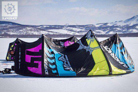 Тест Slingshot RPM 2015 с Камчатки