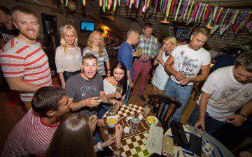 Фото с KiteTeam Party EKB из New Bar. 10 июля 2015