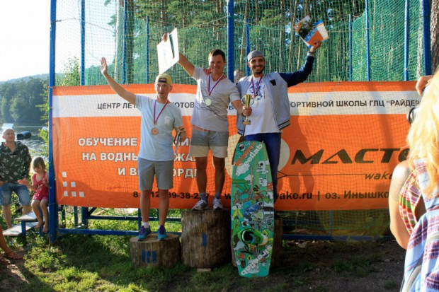 Masters podium
