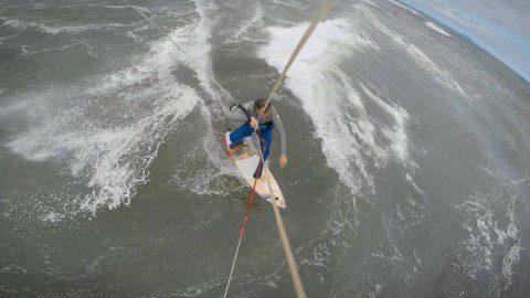 Серфинг с Кайтом на Тихом Океане. Камчатка 2015