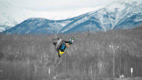 KiteTeam Kamchatka — Осенние полеты