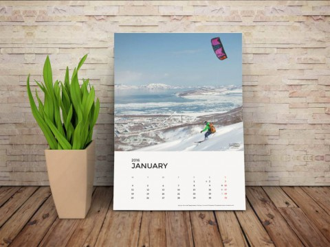 KiteTeam Календарь 2016. Финальная версия