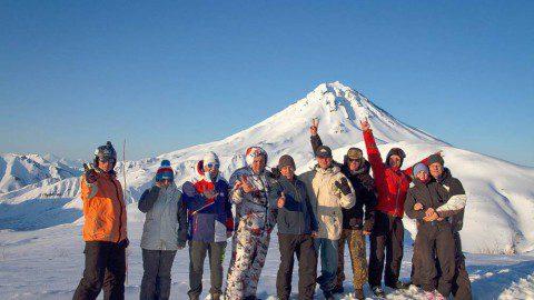 От вулкана Горелый до вулкана Вилючинский или эпический горный Камчатский кайтинг