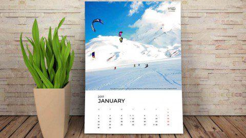 KiteTeam Календарь 2017