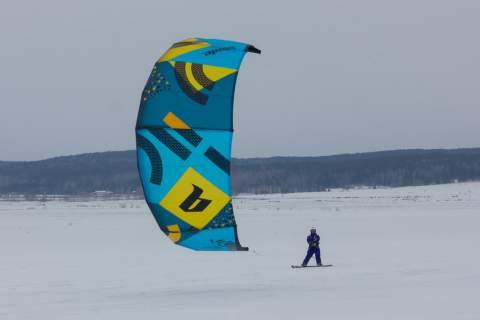 Тест Blade Trigger G9 на снегу