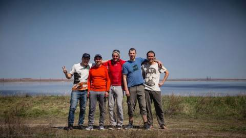 Шалкар-Ега-Кара. п. Светлый. Открытие летнего кайт сезона 2017
