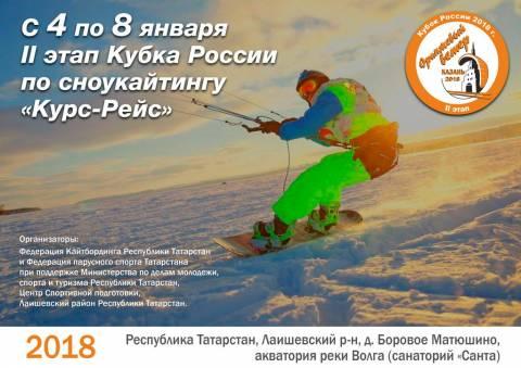 II Этап Кубка России по Сноукайтингу. Казань